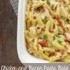 Chicken & Bacon Pasta Bake