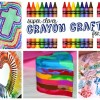 Super Clever Crayon Crafts