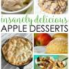 Insanely Delicious Easy Apple Dessert Recipes