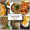 Meal Planning Made Easy Week #3