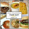 Meal Planning Made Easy Week #14