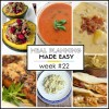 Meal Planning Made Easy Week #22
