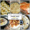 Meal Planning Made Easy Week #25