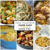 Easy Meal Plan Week #42