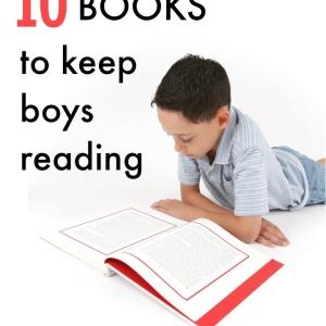 10 Books to Keep Boys Reading