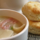 Ham And Dumpling Soup