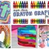 Super Clever Crayon Crafts