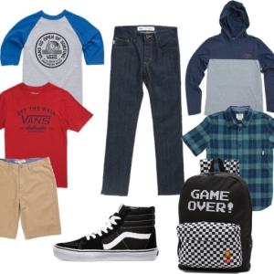 Build a Back to School Wardrobe