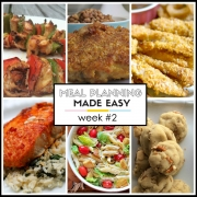 Meal Planning Made Easy Week #2