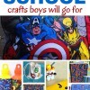 DIY Back to School Crafts Boys Will Go For