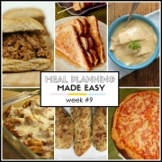 Meal Planning Made Easy Week #9