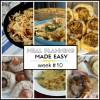 Meal Planning Made Easy Week #10
