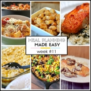 Meal Planning Made Easy Week #11