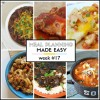Meal Planning Made Easy Week #17