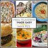 Meal Planning Made Easy Week #21
