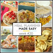 Meal Planning Made Easy Week #20