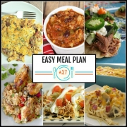 Easy Meal Plan Week #27