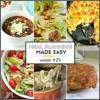 Easy Meal Plan Week #29