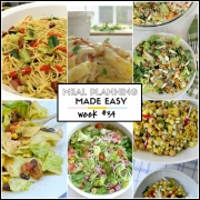 Easy Meal Plan Week #34