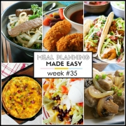 Easy Meal Plan Week #35