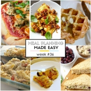 Easy Meal Plan Week #36