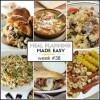 Easy Meal Plan Week #38