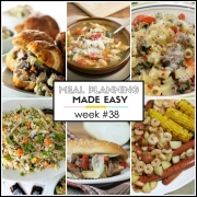 Easy Meal Plan Week #38