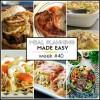 Easy Meal Plan Week #40