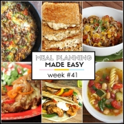 Easy Meal Plan Week #41