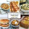 Easy Meal Plan Week #47