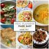 Easy Meal Plan Week #51