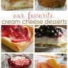Don't Miss These WOW Worthy Cream Cheese Desserts