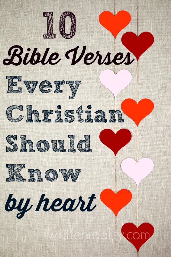 10 Bible Verses Every Christian Should Know