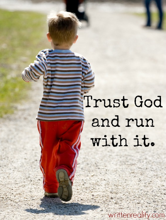 Trust Word of God and run