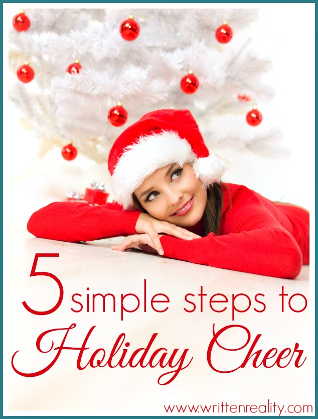 5 simple steps to holiday cheer