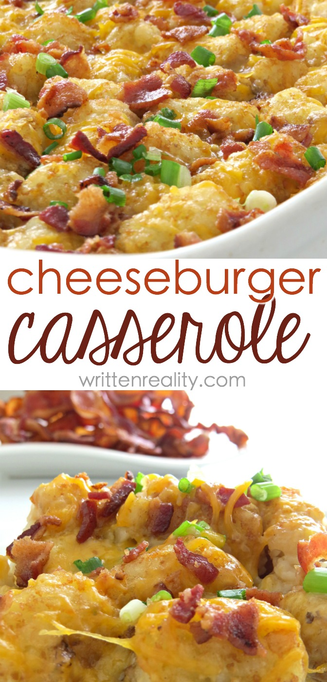 This Cheeseburger Casserole Recipe is a comfort food