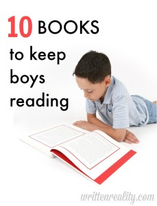10 Books to Keep Boys Reading