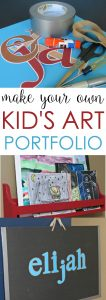 Make Your Own Kid Art Portfolio