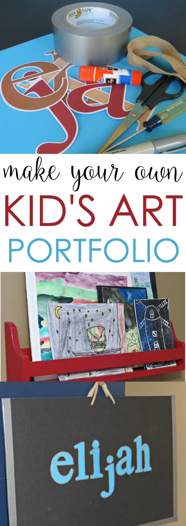 Kids Art Portfolio Case