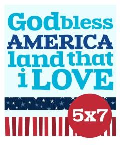 God-America-sizes