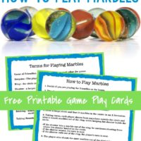 how to play marbles