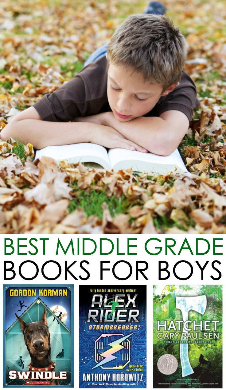 best books middle school boys