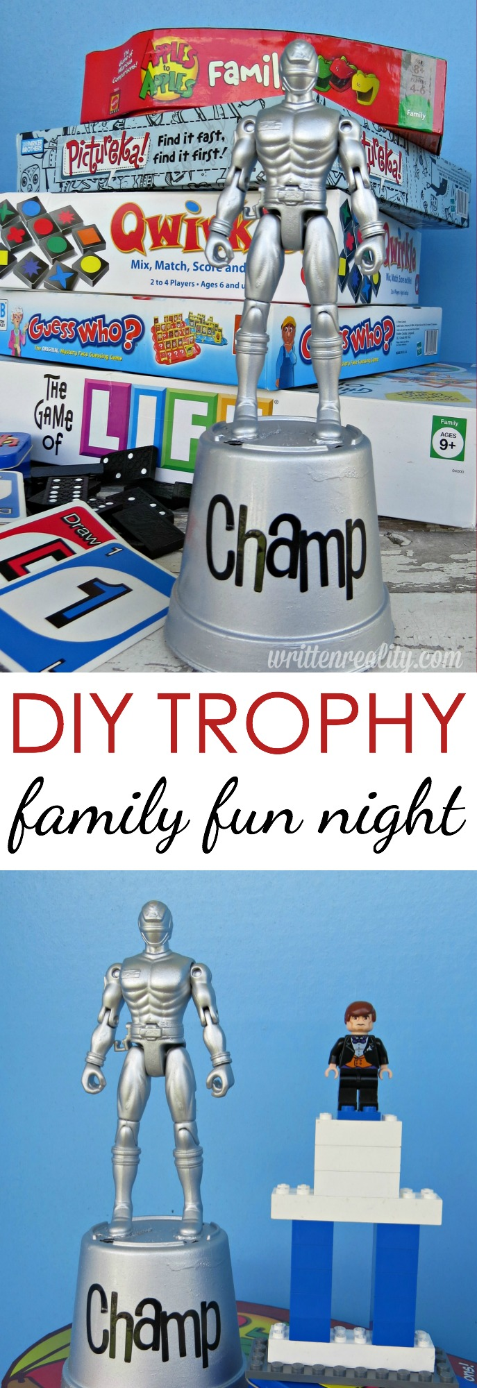 family fun trophy