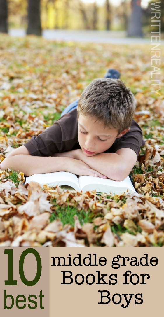 10 BEST Middle Grade Books for Boys