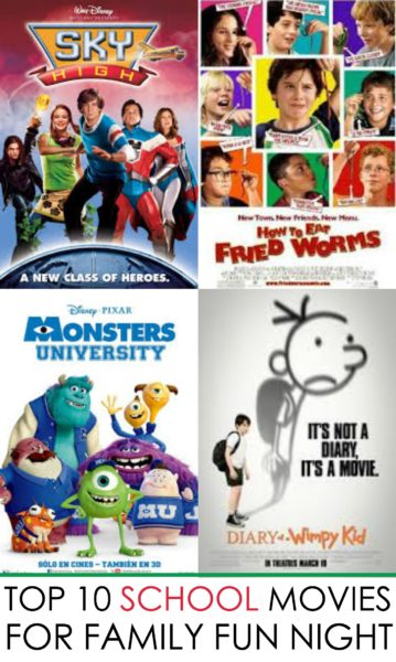 10 BEST Back to School Movies for Family Fun Night ...