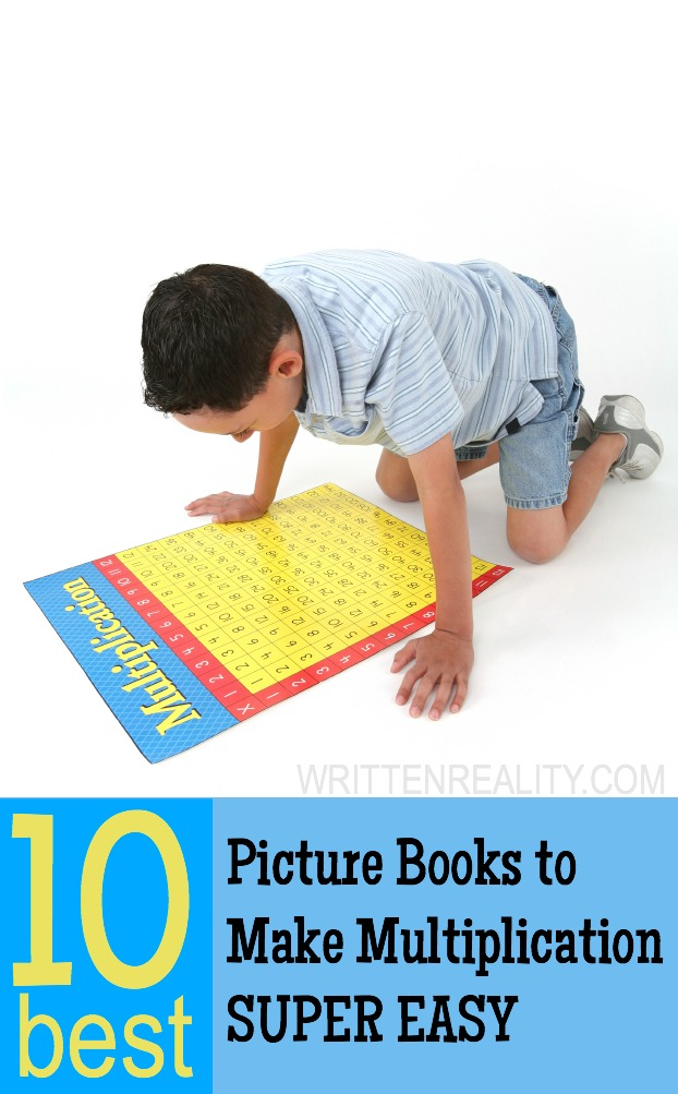 AWESOME Picture Books for Multiplication