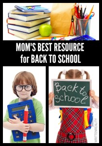 Mom's BEST Back to School Resource