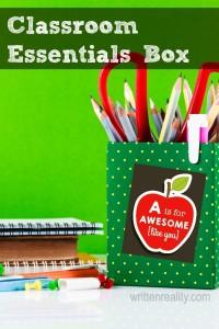 Classroom Essentials Box