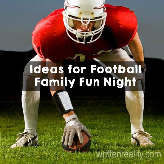 Ideas For Football Family Night
