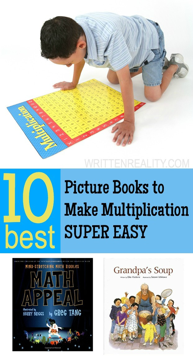 10 BEST Books to Make Multiplication Easy - Written Reality
